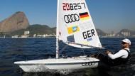 Deutsche Segler testen die Gewässer vor Rio