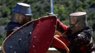 Ritter schlagen sich weltmeisterlich