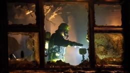 Kindertagesstätte in Frankfurt abgebrannt