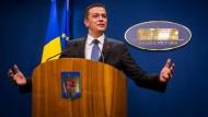 Rumäniens Regierung lenkt ein