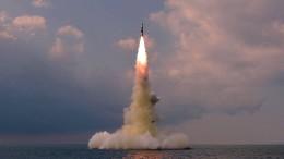 Nordkorea will U-Boot-gestützte Rakete getestet haben