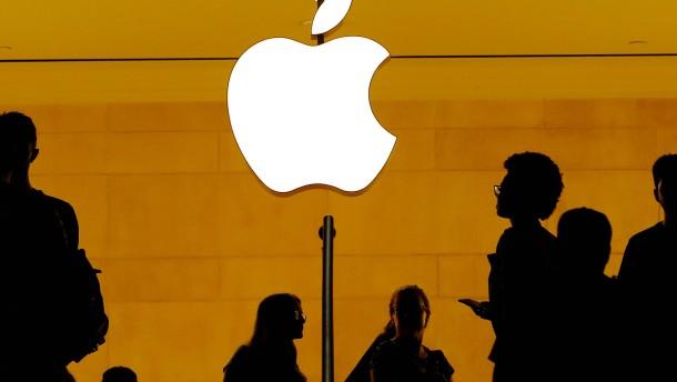 Apple bleibt auf Schrumpfkurs