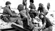 Die Alliierten landen in der Normandie