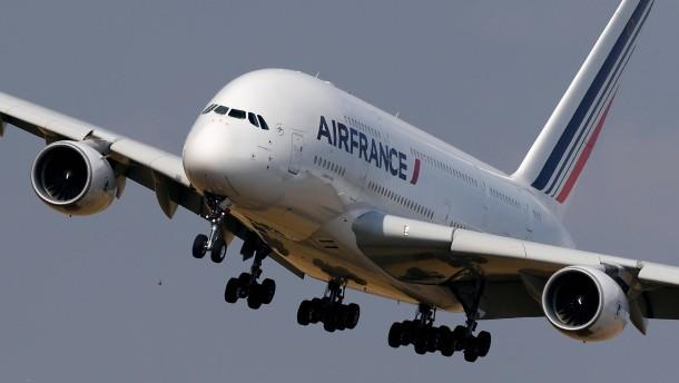 Air France verlor bis zu 15 Millionen Euro jeden Tag