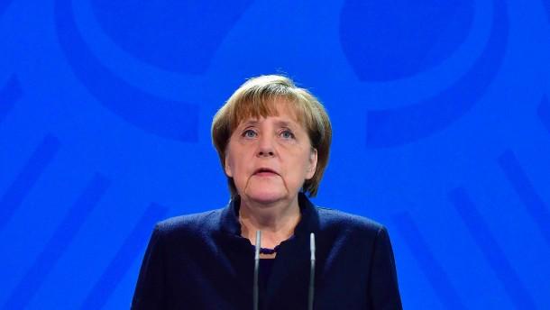 Merkel spricht von Terroranschlag