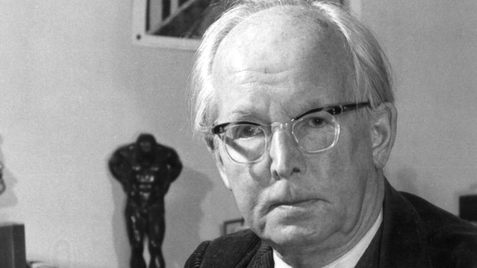 """Thomas Huber liest """"Auf sommerlichem Friedhof (1944) In memoriam Oskar Loerke"""" von Wilhelm Lehmann"""