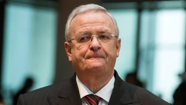 Ehemaliger VW-Chef: Martin Winterkorn wird in Amerika angeklagt