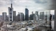 Die Bankentürme in Frankfurt