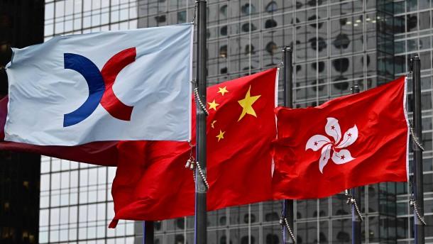 Peking plant Alternative zum umkämpften Hongkong