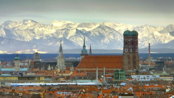 München ist die am stärksten versiegelte Großstadt