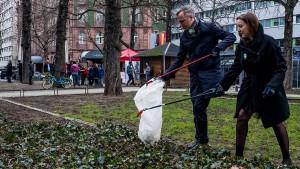 """""""Yes, we kehr"""" – Bürger reinigen das Bahnhofsviertel"""