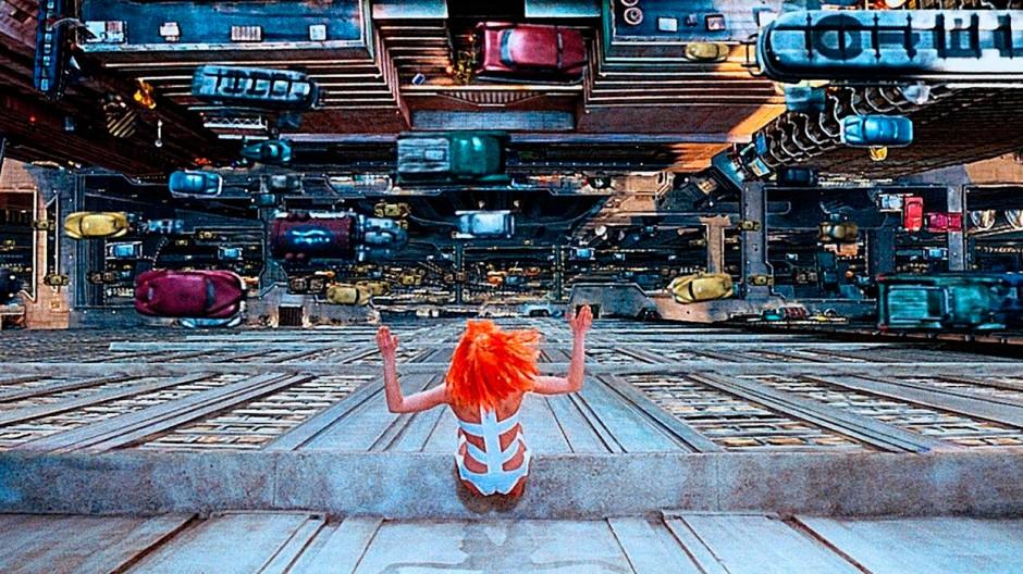 """Wenn die Dinge nichts mehr wert sind, ist Logistik alles: Die totale Mobilmachung, imaginiert von Luc Besson in seinem Film """"Das fünfte Element"""""""
