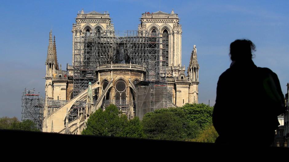 Riesige Spendenwelle: Für Notre-Dame sind schon Millionen Euro an Spenden zusammengekommen.