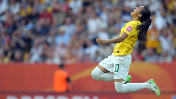 Fussball-WM: Brasilien - USA