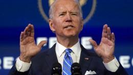 Biden will 1,9 Billionen Dollar schweres Corona-Hilfspaket auflegen