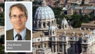 In Rom wird Auszeit für Bischof von Limburg erwartet