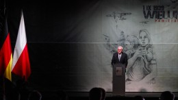 Steinmeier verneigt sich vor Opfern des Überfalls auf Polen