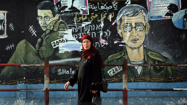 1027 Palästinenser für einen Israeli