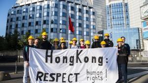 China geht auch in Deutschland gegen Demokratieaktivisten aus Hongkong vor