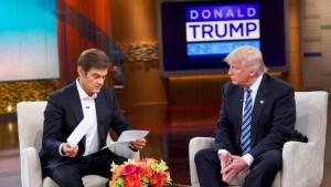Donald Trump bei Fernseharzt Dr. Oz
