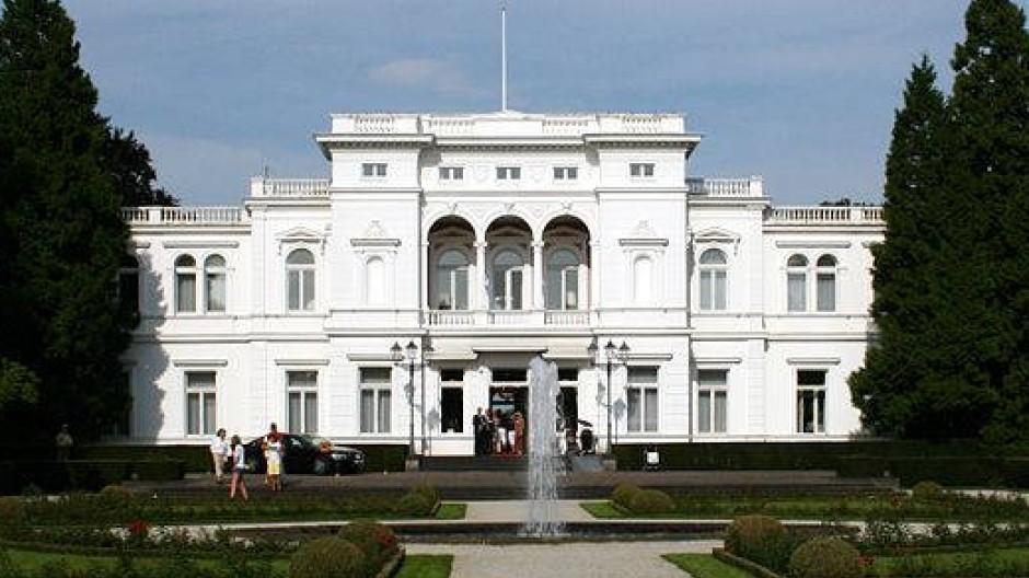 Die Villa Hammerschmidt in Bonn: Seit 1950 erster und seit 1994 zweiter Amts- und Wohnsitz des Bundespräsidenten.