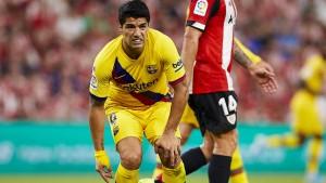Barcelona verpatzt Auftakt – und verliert Suarez
