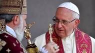 Papst Franziskus ruft Armenien und Türkei zur Versöhnung auf