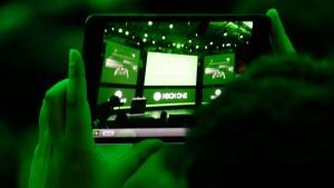Laufender Empfang mit der Xbox One