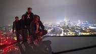 Unterwegs auf Frankfurts Hochhäusern