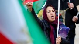 Armut treibt Iraner auf die Straße