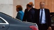 Krisengipfel im Kanzleramt: Angela Merkel empfängt Innenminister Horst Seehofer.