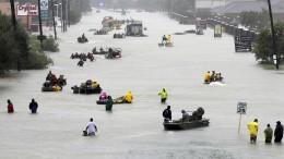 """Keine Entwarnung nach Hurrikan """"Harvey"""""""