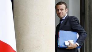 Frankreichs Wirtschaftsminister kündigt Rücktritt an