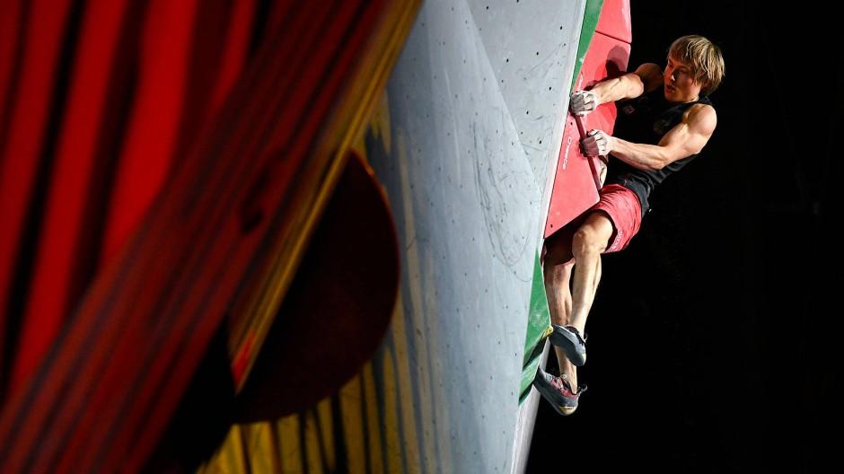 Für Alexander Megos ist der Traum von einer zweiten Medaille bei der Kletter-WM geplatzt.
