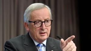 Fordert Juncker eine europäische Arbeitslosenversicherung?
