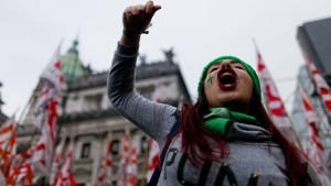 Abtreibungen in Argentinien bleiben Straftat
