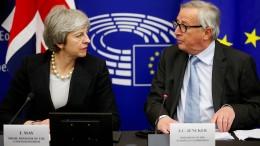 Juncker rechnet fest mit Teilnahme der Briten an Europawahl