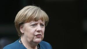 Die Kanzlerin will keinen Kurswechsel