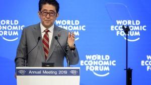 So will Japans Regierungschef die Welt verbessern