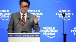 Abes Plädoyer für Digitalisierung und Klimaschutz
