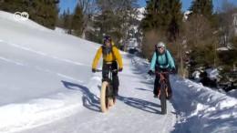 Winterbiken in der Schweiz