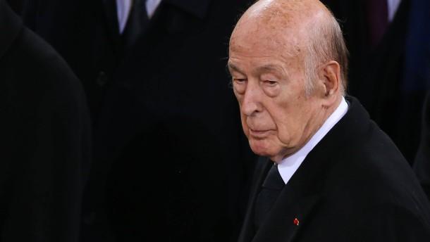Trauer um Giscard d'Estaing