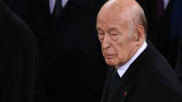 Trauer um Giscard d'Estaing