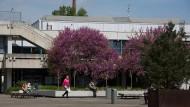 Zurückgeblieben: Auf dem Campus Bockenheim lernen nur noch wenige Studenten - er soll zum Kulturcampus werden.