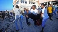 Anschlag auf Hotel in Mogadischu