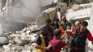 Heftigste Luftangriffe auf Aleppo seit Monaten