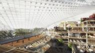 Google plant gigantische Zentrale unter Glas