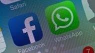 Dürfen Facebook und Whatsapp ihre Daten untereinander frei austauschen?
