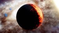 So könnte das Planetensystem TOI-561 aussehen.