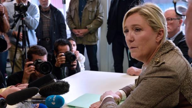 Prozess gegen Marine Le Pen
